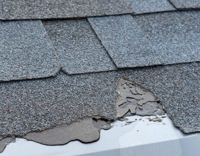 replacing or repairing missing roof shingles